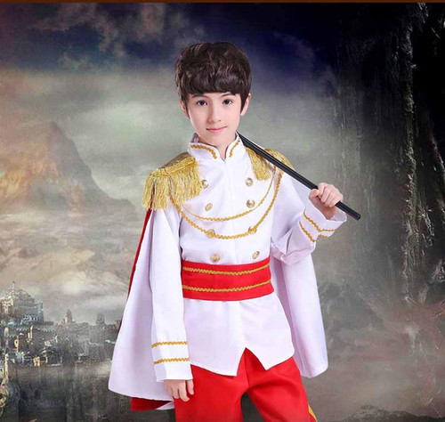 Child Boy Kids Prince King Cosplay Costume Fancy Dress Party Ball Halloween Children'Day Masquerade Cosplay Carnival Costumes - Joelinks store
