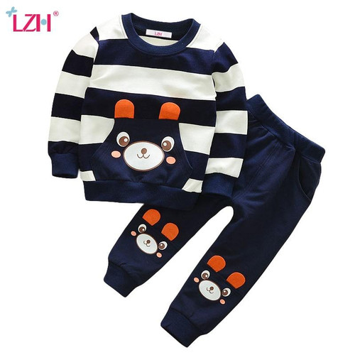 Children Clothing 2019 Spring Autumn Boys Clothes Outfit Kids Clothes Tracksuit Suit For Toddler Boys Clothing Sets 1 2 3 4 Year - Joelinks store
