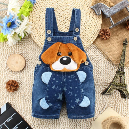IENENS Summer 1PC Kids Baby Boys Clothes Clothing Short Trousers Toddler Infant Boy Pants Denim Shorts Jeans Overalls Dungarees - Joelinks store