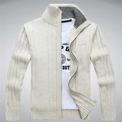 NIANJEEP Sweaters Wool Cotton Sweater Men sweater cardigan Winter Autumn Sweater Men Sweatercoats 203 - Joelinks store