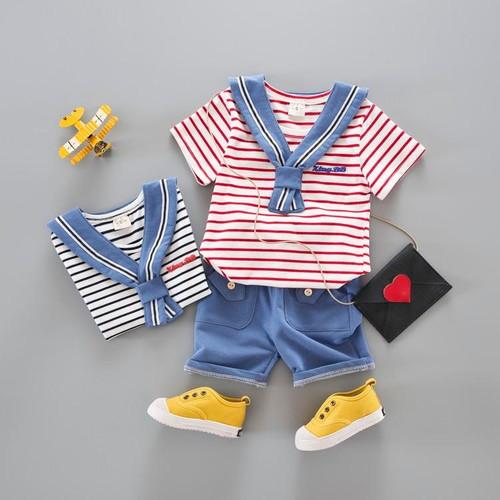 Brand Toddler Boys Clothes Summer Boutique Kids Clothing sets Little Boy Clothes E-01 - Joelinks store