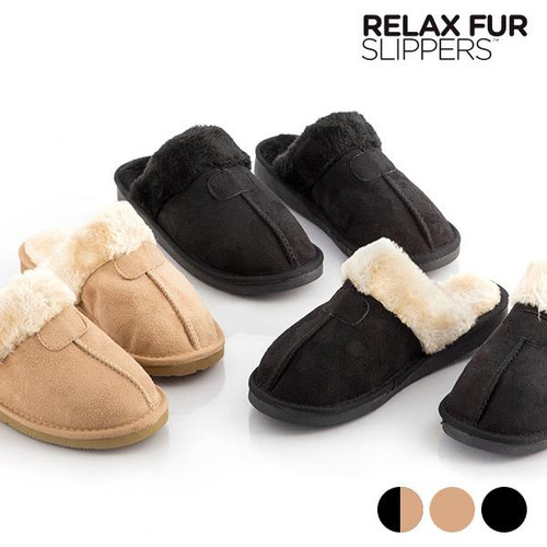 Relax Fur Slippers - Joelinks store