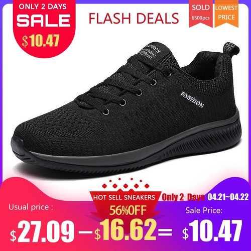 Exclusive New Mesh Men Casual Shoes Lac-up Men Shoes Lightweight Comfortable Breathable Walking Sneakers Tenis Feminino Zapatos - Joelinks store