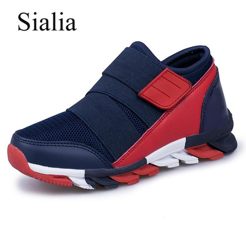 Sialia Sport Kids Sneakers For Boys Shoes Children Sneakers Girls Casual Shoes Breathable Mesh Running Trainer chaussure fille - Joelinks store