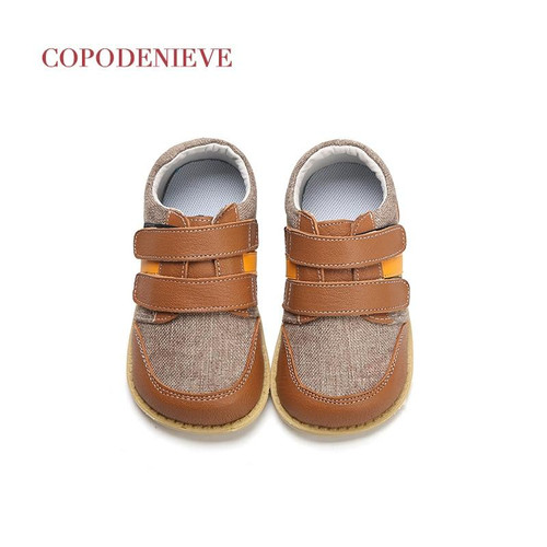 COPODENIEVE  Boys Shoes Spring Autumn Pu Leather Toddler Kids Loafers Moccasins Solid Anti-slip Children's Shoes for Boys - Joelinks store