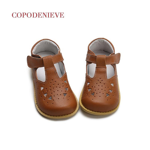 COPODENIEVE Baby Girl Shoes Toddler Girl Shoes For Children's Footwear Princess Hollow  Pink Breathable Hooks Child Shoe - Joelinks store