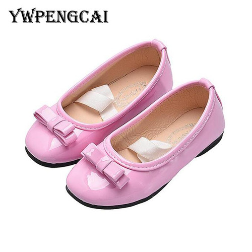 Candy Colors Children Shoes Girls Flats Slip-on Dress Shoes Size 21-36 Baby Toddler Girl Shoes Party Princess Ballet Girls Shoes - Joelinks store