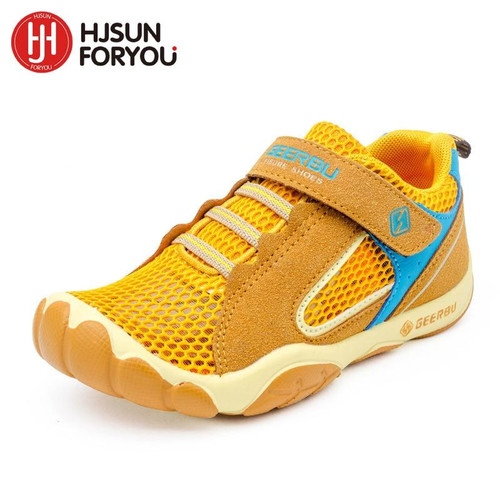 Hot Sale 2018 Summer Mesh Children sneakers cowhide leather child casual shoes fashion sport shoes boys girls running shoes - Joelinks store