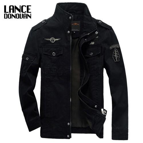 NEW 2019 Mens Green Khaki 3 colors Military jacket winter Cargo Plus size M-XXXL 5XL 6XL Casual man Jackets Army clothes brand - Joelinks store