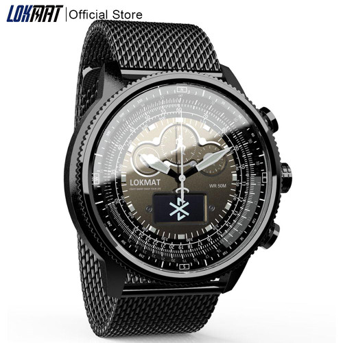 LOKMAT Bluetooth Smart Watch Sport Waterproof pedometers Information Reminder digital men clock smartwatch for ios Android phone - Joelinks store