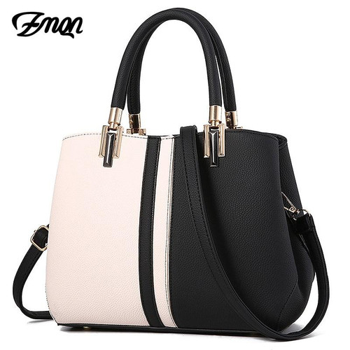 ZMQN Women Handbags Luxury Handbag Women Bags Designer Leather Bags For 2019 Fashion Panelled  Shoulder Bag Female Kabelka A709 - Joelinks store