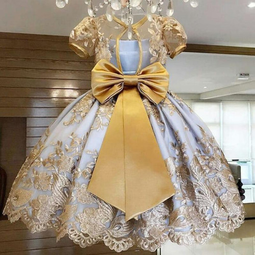 Girls Dress Elegant New Year Princess Children Party Dress Wedding Gown Kids Dresses for Girls Birthday Party Dress Vestido Wear - Joelinks store