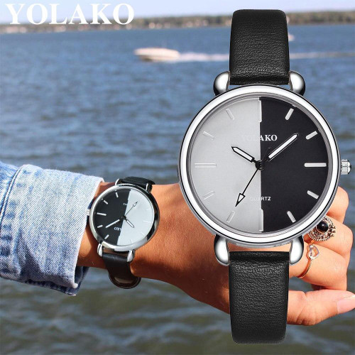 2019 Best Selling Fashion Women Romantic Starry Sky Watch Casual Luxury YOLAKO Brand Leather Rhinestone Watch Relogio Feminino - Joelinks store