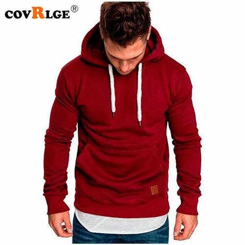 Covrlge Mens Sweatshirt Long Sleeve Autumn Spring Casual Hoodies Top Boy Blouse Tracksuits Sweatshirts Hoodies Men MWW144 - Joelinks store