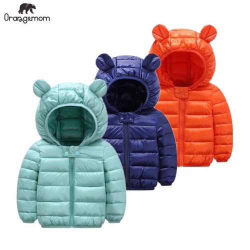Cute 1- 5y baby girls jacket kids boys fashion coats with ear hoodie spring girl clothes infant clothing children's jackets - Joelinks store