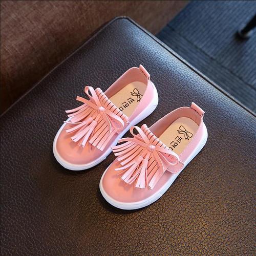 Girls Shoes Kids Shoes Princess Tassel Flats Children Wedding Shoes Girls Cute Sneakers For Toddler Girls Trainers HaoChengJiaDe - Joelinks store