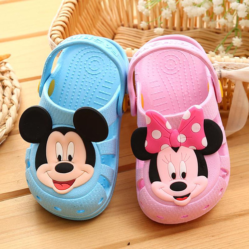 Kids slippers girls boys slippers cute cartoon charms summer kids slippers casual non-slip comfortable kids shoes - Joelinks store
