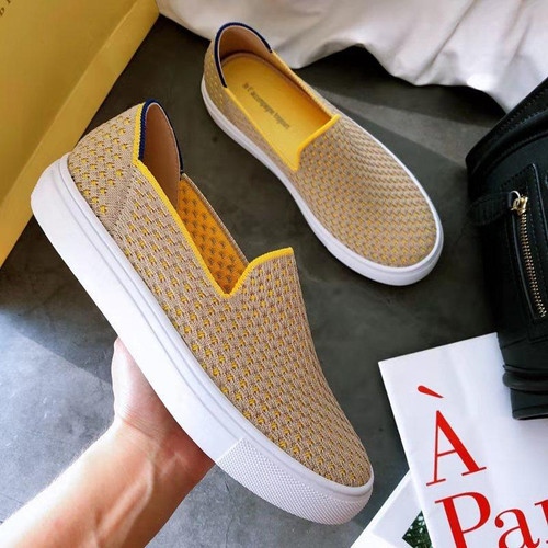 2020 Women's Loafers flat Shoes Zapatos De Mujer Autumn  Round  Ballerine Femme Tenis Feminino Casual Black Ladies weaving