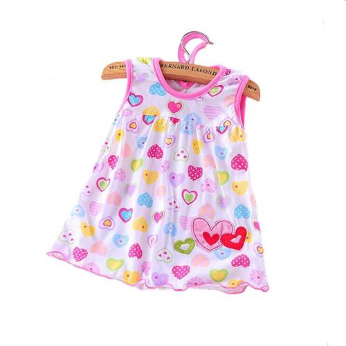 2020 Cute Vestido infantil Baby Girl Dress Cotton Regular Sleeveless A-Line Dresses Casual Clothing Mini Princess 0-24 Months