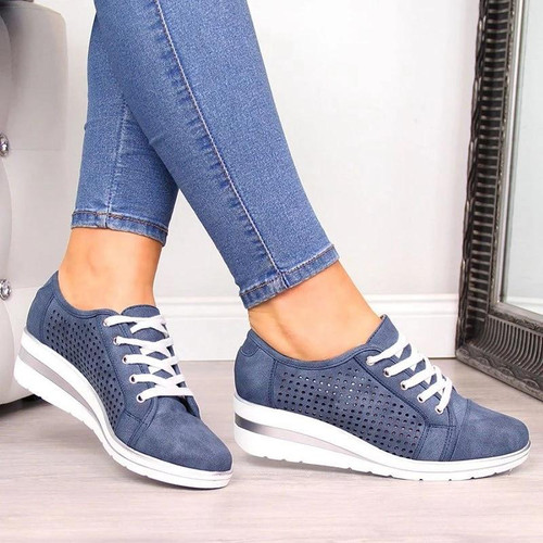 Adisputent Summer Women Flats Shoes Female Hollow Breathable Mesh Casual Shoes for Ladies slip on flats Loafers shoes Beach