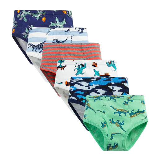 Toddler Boys Dinosour Underwear 1 pc retail Kids Cartoon Shorts Panties Soft