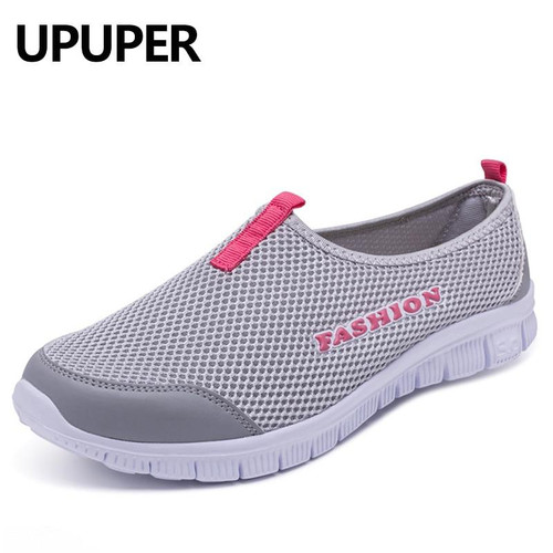 Breathable Mesh Summer Shoes Woman Comfortable Cheap Casual Ladies Shoes 2018 New Outdoor Sport Women Sneakers for Walking - Joelinks store