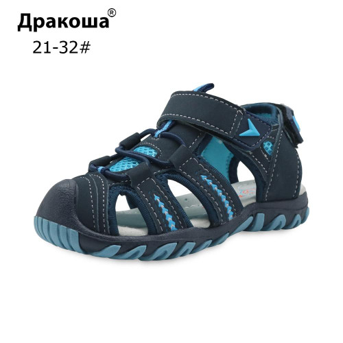Apakowa Brand New Summer Children Beach Boys Sandals Kids Shoes