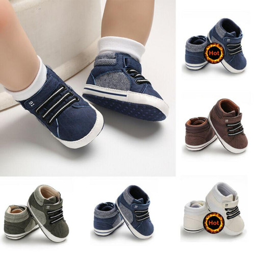 Pudcoco 2020 New Fashion Baby Boys Girls Sneakers Leather Sports Crib Soft