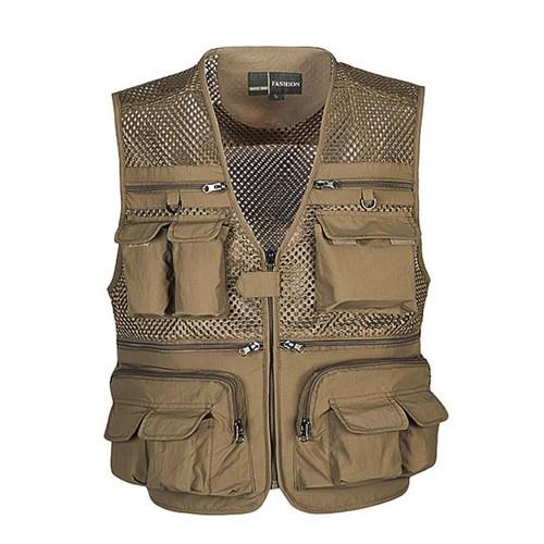 Unloading Tactical Vest Coat Fashion Men's Summer Photographer Waistcoat