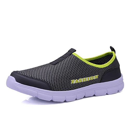 Fashion summer shoes men casual water shoes air mesh shoes large sizes