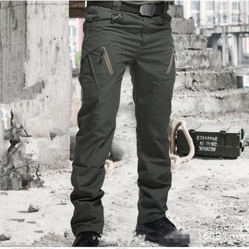 New Military Tactical Pants Men SWAT Combat Men  Outdoor Waterproof