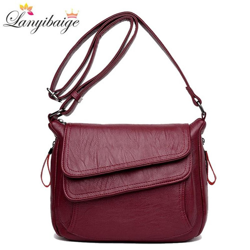 Winter hot selling women handbags soft leather luxury handbags women bags