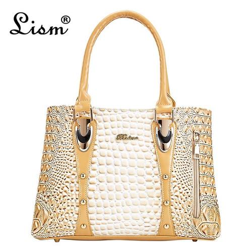 2020 new luxury brand crocodile handbags women bags designer shoulder bag women