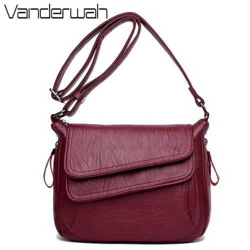 Summer Style Soft Leather Luxury Handbags Women Bags Designer For Women 2020 Sac A Main