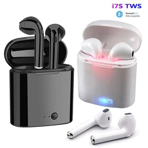 i7s TWS Wireless Earpiece  Bluetooth 5.0 Earphones Headset With Mic For smart Phone