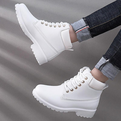 Shoes Woman chaussures femme 2018 Winter Boots Women Casual Shoes Tooling Ankle Snow Boots Plush Warm Women Shoes botas mujer - Joelinks store