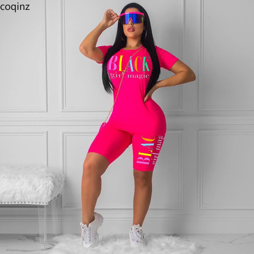 Plus Size Summer 2020 Two Piece Set Crop Top And Shorts 2 Piece Set Women Club Outfits Matching Sets Ensemble Femme 5249