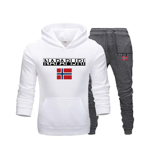 Pullover Sets Men Tracksuits 2019 Casual Hoodies Pants Mens