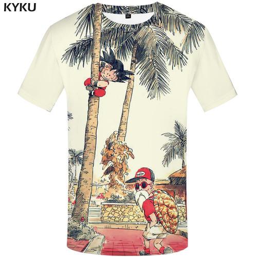 Dragon Ball T Shirt 3d T-shirt Anime Men T Shirt Funny