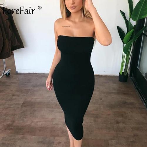 Forefair Sexy Long Dress Women Summer Dress