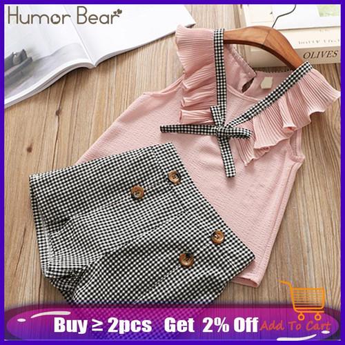 Humor Bear Girls clothes Girls Sets Summer Set 2020