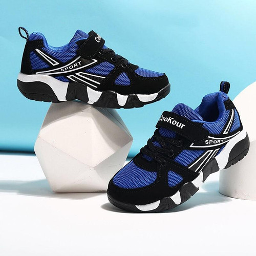 2020 Autumn Children Sports Shoes Boys Breathable Running Sneakers