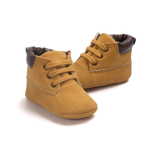 2020 Spring Autumn Infant Baby Boy Soft Sole PU Leather Shoes 0-18 Months