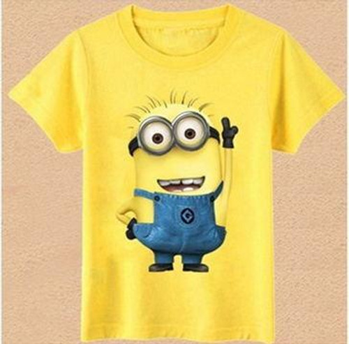 Fashion  T Shirt Cartoon Kids  T-Shirt Short Sleeve Top Casual Summer