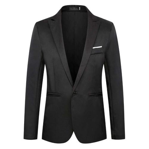 The new 2020 button is a suit jacket  one button suit men's suit casual outerwear