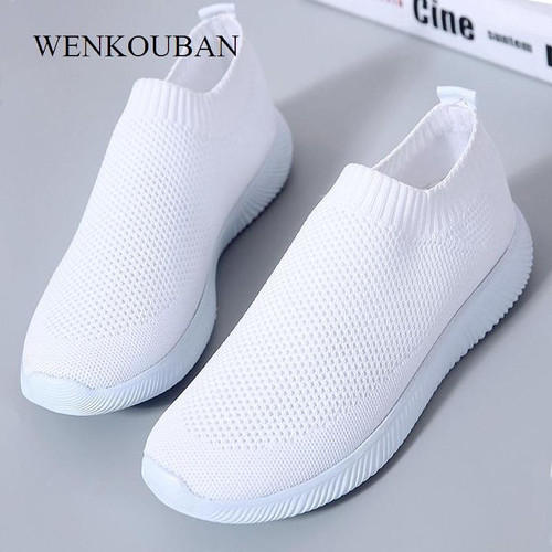 2020 Women Sneakers Fashion Socks Shoes Casual White Sneakers