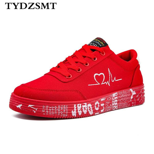 Women Vulcanized Shoes Sneakers Ladies Lace-up Casual Shoes
