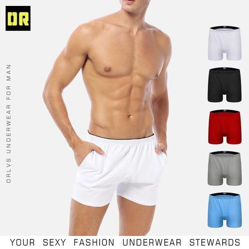 CMENIN Boxer Men Underwear Cotton Pouch Boxershorts Sleep Men