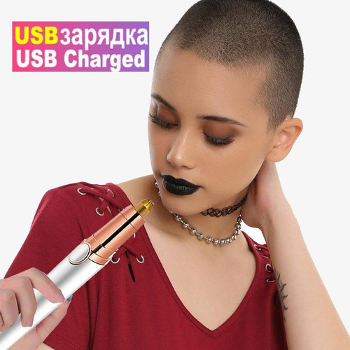 Electric Eyebrow Trimmer Shaver Women Eyebrow Painless Hair Removal Pens Makeup Mini Eye Brow Razor Portable Hair Epilator