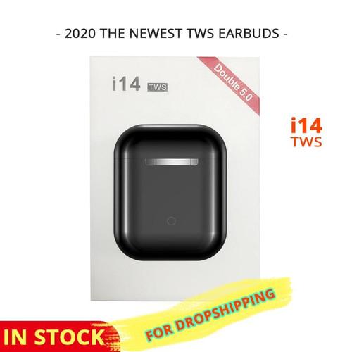 New i14 tws Original Wireless Headphones Bluetooth Earphone sports Earbuds
